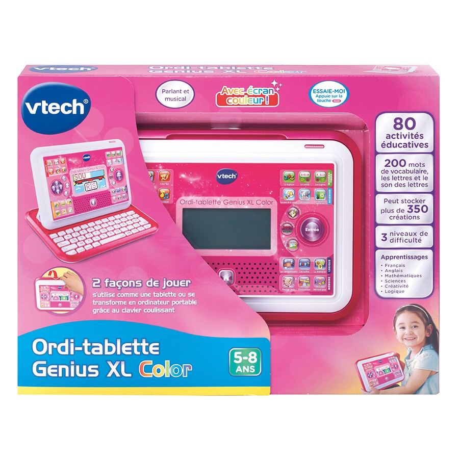 155555 ordi tablette genius xl color rose2 1 - Genius Xl Color